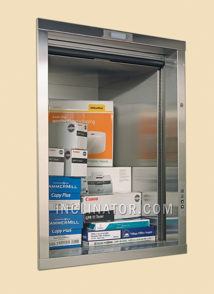 Dumbwaiters come in two varieties; manual and electric. Dumbwaiters are not elevators nor are they Vertical Reciprocating Conveyors (VRCs). & Dumbwaiters \u2013 RMR Elevator Company Inc.